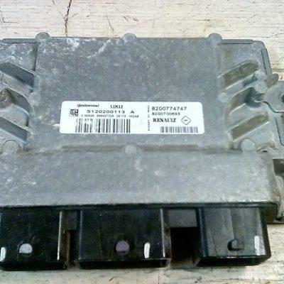 Ecu Computer Renault Twingo 1.2 16V 2009 (8200774747-8200700695-S120201130A)