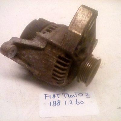 63321712 A115IM-60AMP Dynamo Fiat Punto 188 1.2 60 (1999/2002)