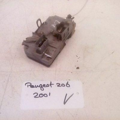 Deurslot Mechanisme Links Voor Peugeot 206 4 Deurs (2001)
