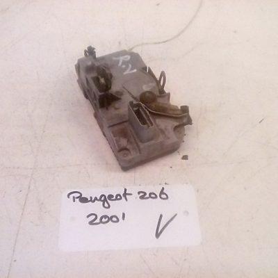 Deurslot Mechanisme Rechts Voor Peugeot 206 4 Deurs (2001)