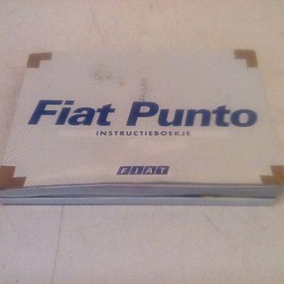 Instructie Boekje Fiat Punto 2 (1999/2002)
