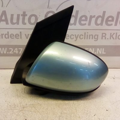 Linker Buitenspiegel Mazda 2 2008-2011 Elektrisch Lichtblauw Metallic