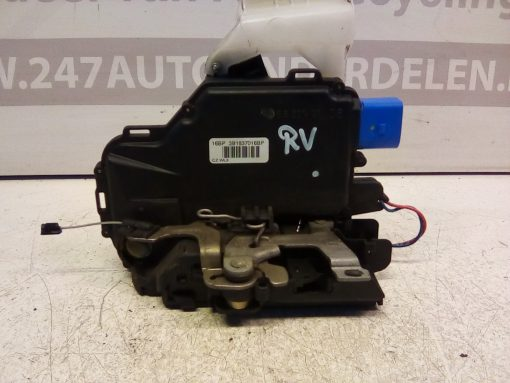 3B1837016BP Deurslot mechaniek Rechts Voor Volkswagen Polo 9 N3 4 Deurs