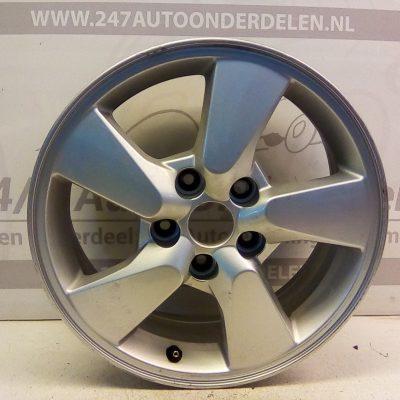 MS351 J 50-TK 16X61/2J 3 MSD Aluminium Velg Daihatsu Terios J2 4X4 2006-2012