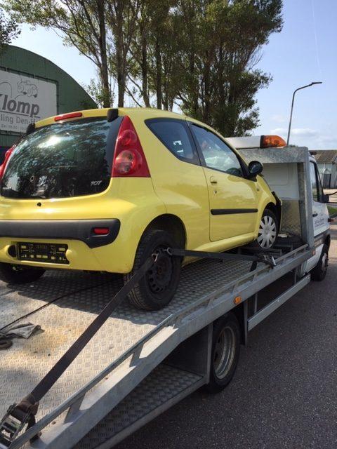 Ruime Sortering Gebruikte Auto Onderdelen Peugeot 107