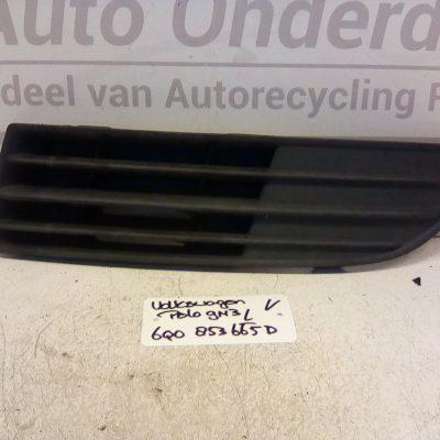 6Q0 853 665 D Bumper Rooster Links Voor Volkswagen Polo 9N3 2006-2009