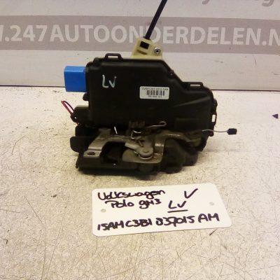 15AM C3B1 837015AM Deurslot mechaniek Links Voor Volkswagen Polo 9N3 4 Deurs