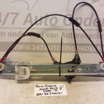 Raammechanisme Rechts Ford Fiesta 2008-2012 3 Deurs