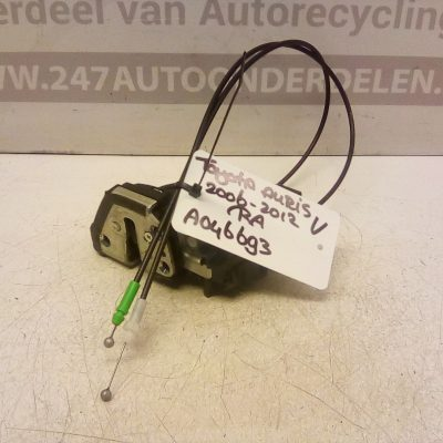 Deurslot Mechaniek Rechts Achter Toyota Auris 2006-2012 (A046693)